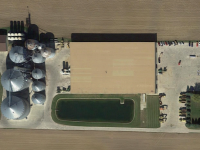 Norwalk grain aerial
